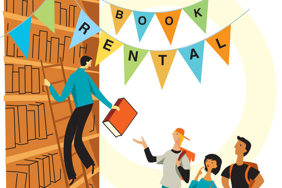 how to rent a book