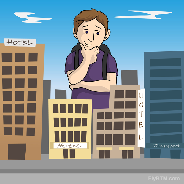 how to choose hotel