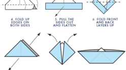 How to Make an Easy Origami Boat | 138x248