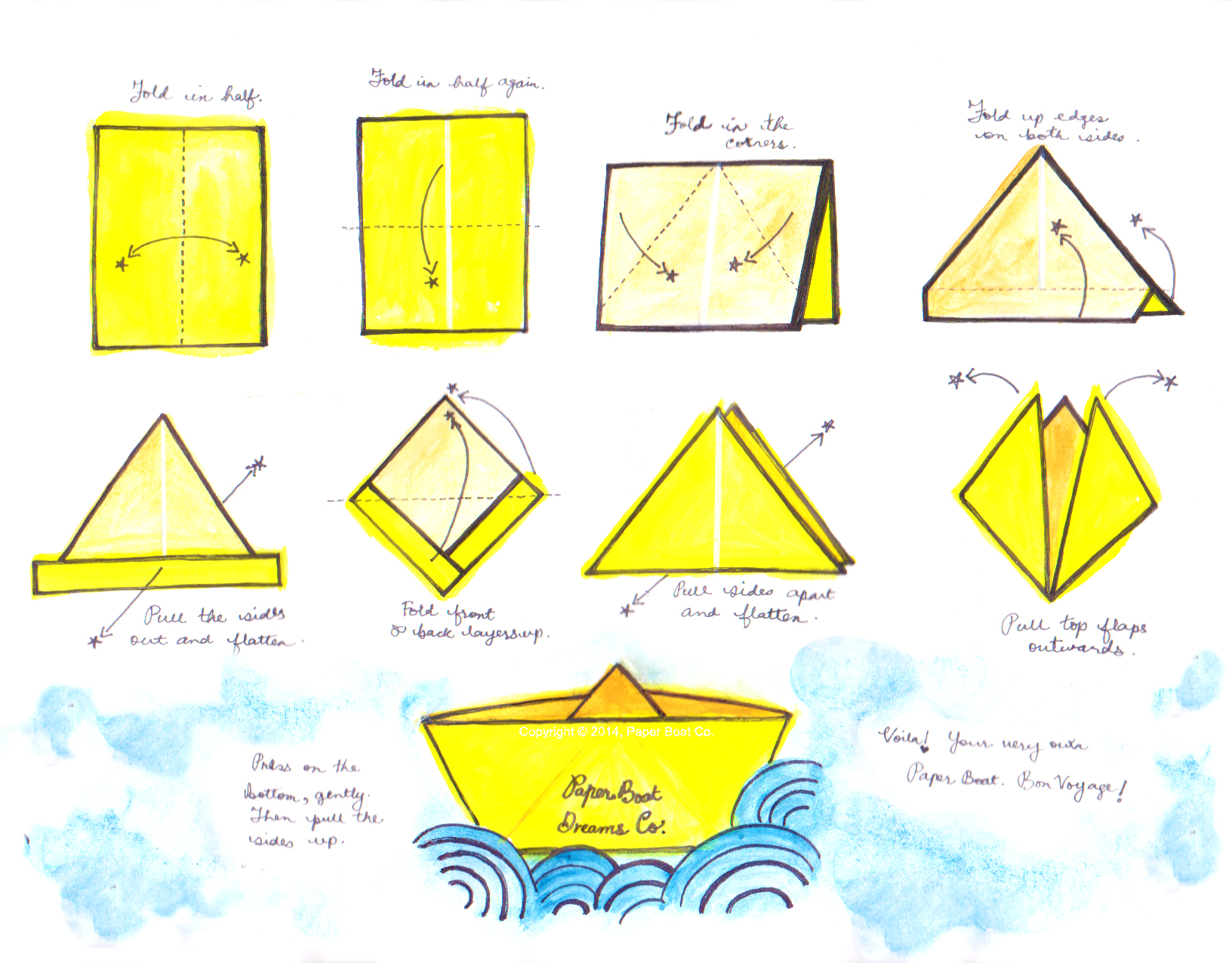 Miscellany of Randomness: Paper boat